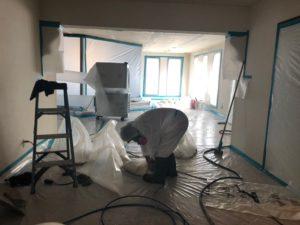 Asbestos Popcorn Ceiling Scrape